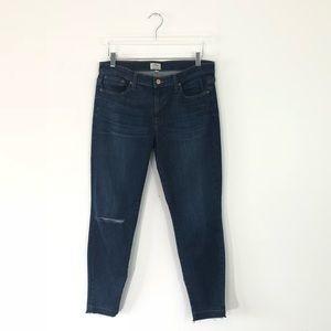 J. Crew Distressed Toothpick Skinny Jeans Size 32